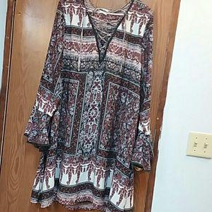 Rue21 plus size long sleeve dress